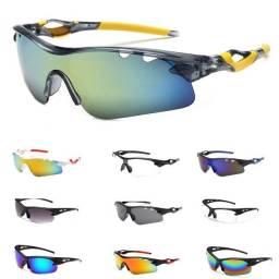 Título do anúncio: Óculos Ciclismo Proteção UV400 (Varias cores)