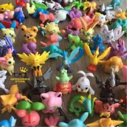 Título do anúncio: Brinquedo pokémon go miniaturas kit 24 pokémons