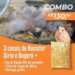 Título do anúncio: Combo 6 hamster e outras coisas entrega grátis