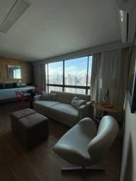 Título do anúncio: LF-Flat em hotel em Boa Viagem,45m²,mobiliado,incluso limpeza,internet.
