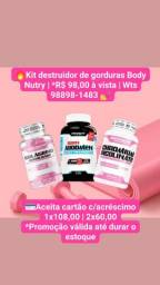 Título do anúncio: Suplementos pra perder peso massa 98,00