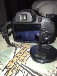 Câmera Fotográfica Semi Nova Sony Dsc H400 Zoom 63x Semi Pro