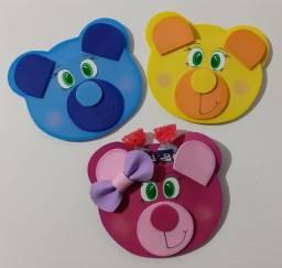 Título do anúncio: 10 ursinhos Lembrancinha dia das crianças Porta Bala