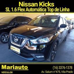 Título do anúncio: NISSAN KICKS SL 1.6 AUTOMÁTICA TOP DE LINHA