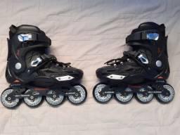 patins profissional semi novo traxart dynamix