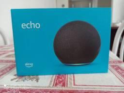 Título do anúncio: Alexa lacrada modelo Premium Echo 4° geração