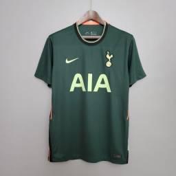 Camisa Tottenham Away 20/21 Torcedor R$ 90,00