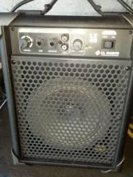 Título do anúncio: Vendo Caixa De Som LL Audio Lx 40 Bivolt Portátil Para Violão Guitarra Microfone RCA