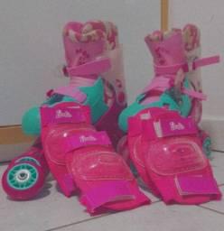 patins da Barbie