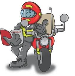 Motoboy disponíbilidade total