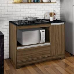 Título do anúncio: KIT Cozinha Balcão + Cooktop + Forno Elétrico