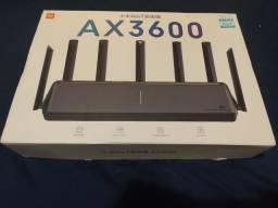 Roteador Xiaomi AX3600 na caixa NOVO