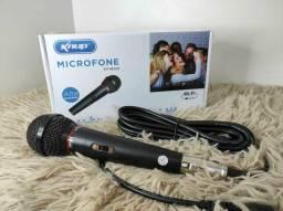 Microfone com fio, excelente captação de áudio r$130,00 ENTREGO.