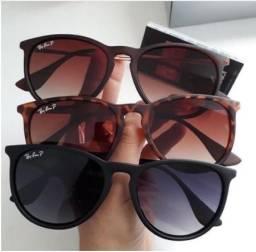 óculos de sol Erica Ray ban feminino masculino lentes polarizadas