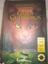 Título do anúncio: Livro gatos guerreiros na floresta