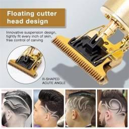Título do anúncio:  Máquina Vintage T9 De Cortar Aparador De Cabelo Profissional Barbeiro Dragão