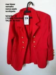 Título do anúncio: Max blazer vermelho