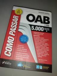 Livro Como passar na OAB 1a fase
