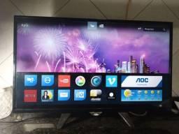 Título do anúncio: TV AOC 32 smart