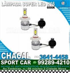 Título do anúncio: Lâmpada Super Led H16 (produto novo e nota fiscal).