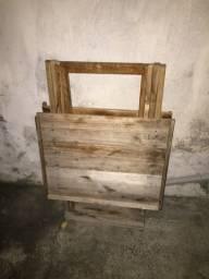 Título do anúncio: Mesa de madeira dobrável