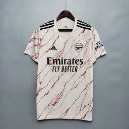 Título do anúncio: Camisa II Arsenal 20/21 - Camisas de futebol pronta entrega