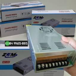 ®Fonte Chaveada 30 amperes P/ Cftv Fita LED
