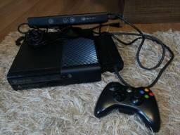 Xbox 360 destravado com 1 manete e kinect