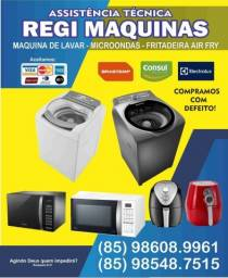 Título do anúncio: Conserto de máquinas de lavar e microondas fritadeira