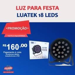 Título do anúncio: Luz para festa Luatek 18 leds