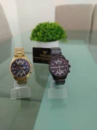 Título do anúncio: Relógio marca Nibosi modelo 2375, qualidade e luxo