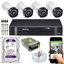 Título do anúncio: Cameras de segurança instalação e manutenção