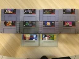Jogos Fitas Cartuchos Super Nintendo Snes