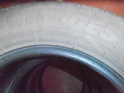 4 Pneus 185/65/15 Bridgestone - Usadinho