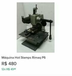 Máquina stamp rimaq p6