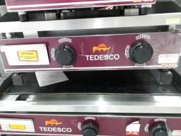 Chapa Bifeteira BG-62 à gás Tedesco