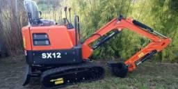 Mini Escavadeira - SX12