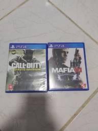 Vendo jogos por 50 reais