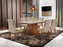 Mesa Pietra com 6 cadeiras I552