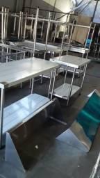 Mesa inox 1.80x60x90 (fábrica)
