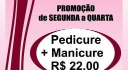 Promoção manicure