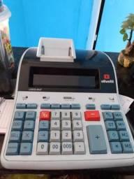 Calculadora de mesa Olivetti já com 5 bobinas inclusas
