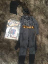 Fantasia Infantil Batman de luxo