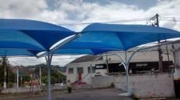 Vendo sombrite azul cobre 85% do sol!