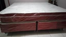 Cama box casal 2,00x2,00 super king size extra grande