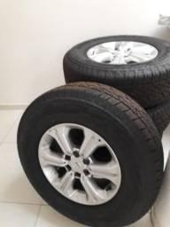 Rodão e pneus novo da nissa frontier - 2019