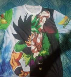 Camisa Dragon Ball (Estampa completa)