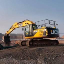 Aluga-sé escavadeira hidráulica