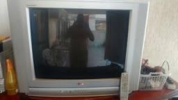 """TV 29"""" LG c/controle ligando com som porém sem imagem"""