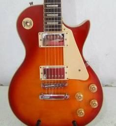 Vendo ou troco guitarra Memphis MLP-100